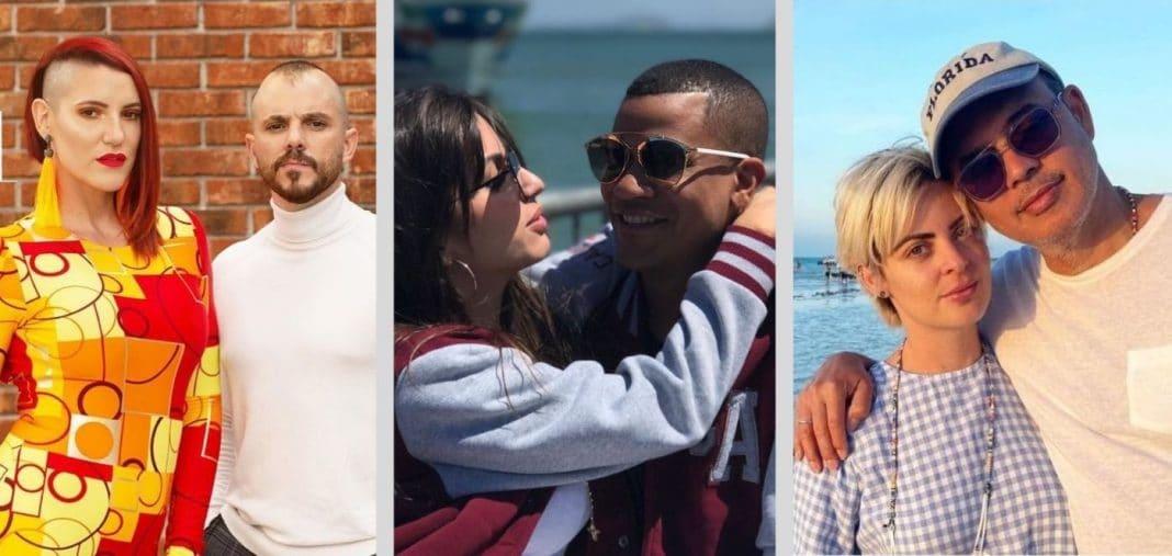 parejas famosos farándula cubana