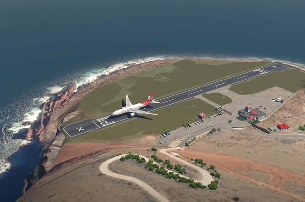 aeropuerto más pequeño del mundo