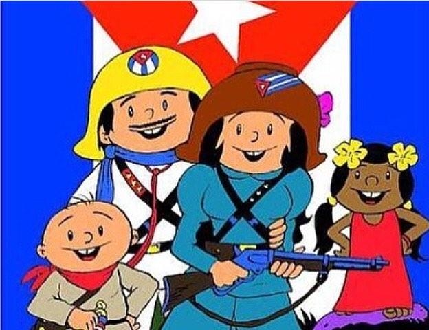 Animados cubanos muñequitos cinematografía televisión