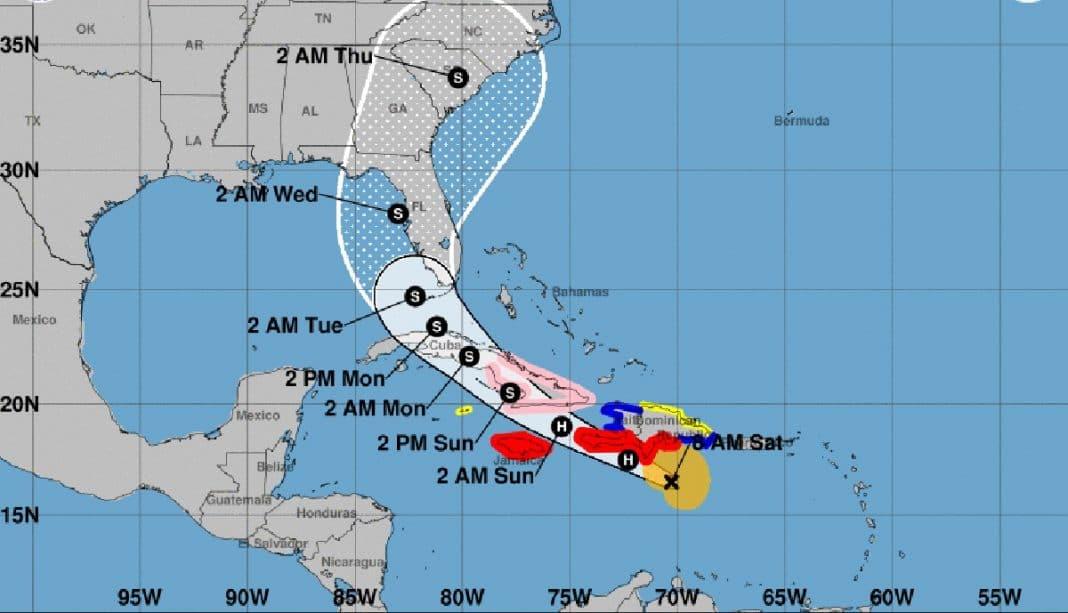 amenaza del huracán Elsa para Cuba