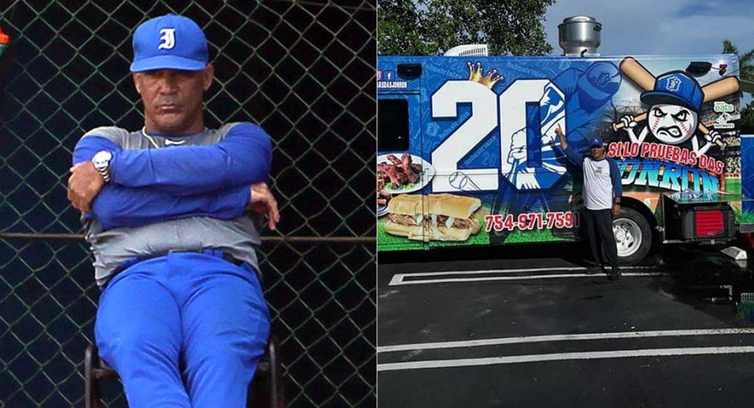 pelotero Lázaro Vargas inaugura food truck en Miami