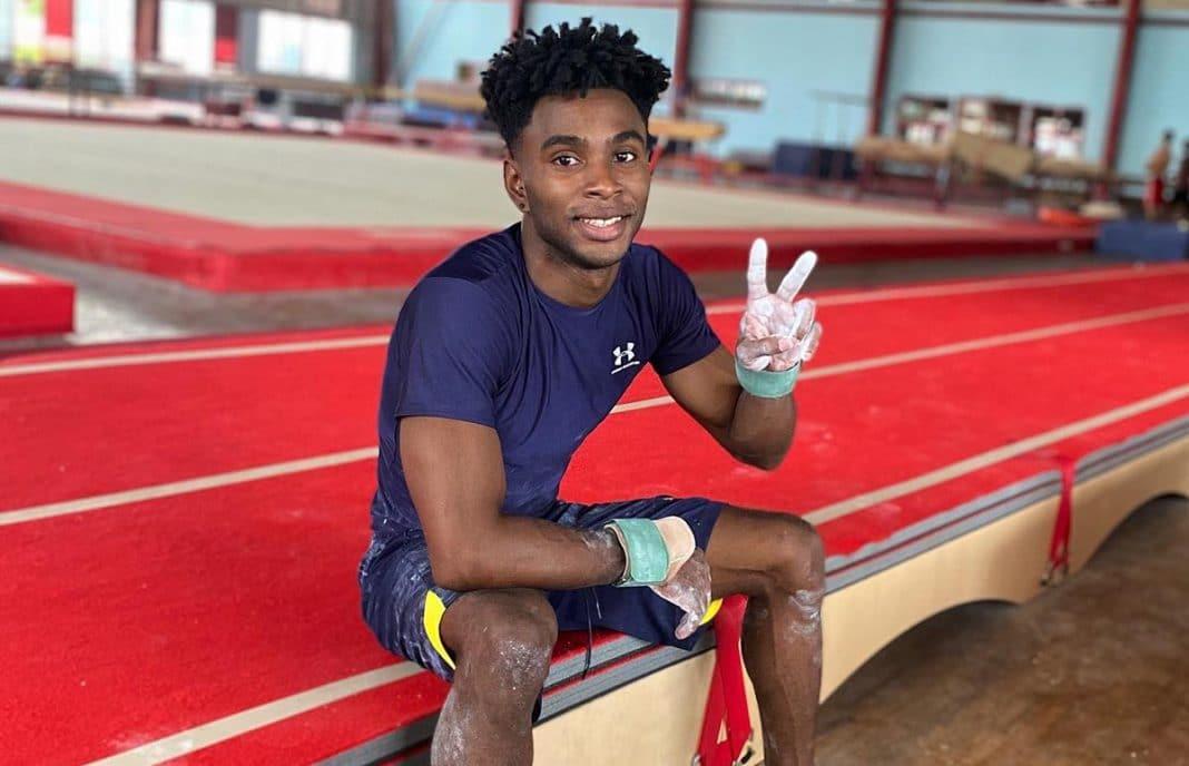 gimnasta cubano Manrique Larduet