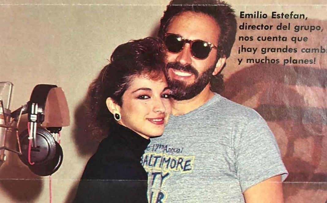 Gloria Estefan recuerda su primer beso con Emilio