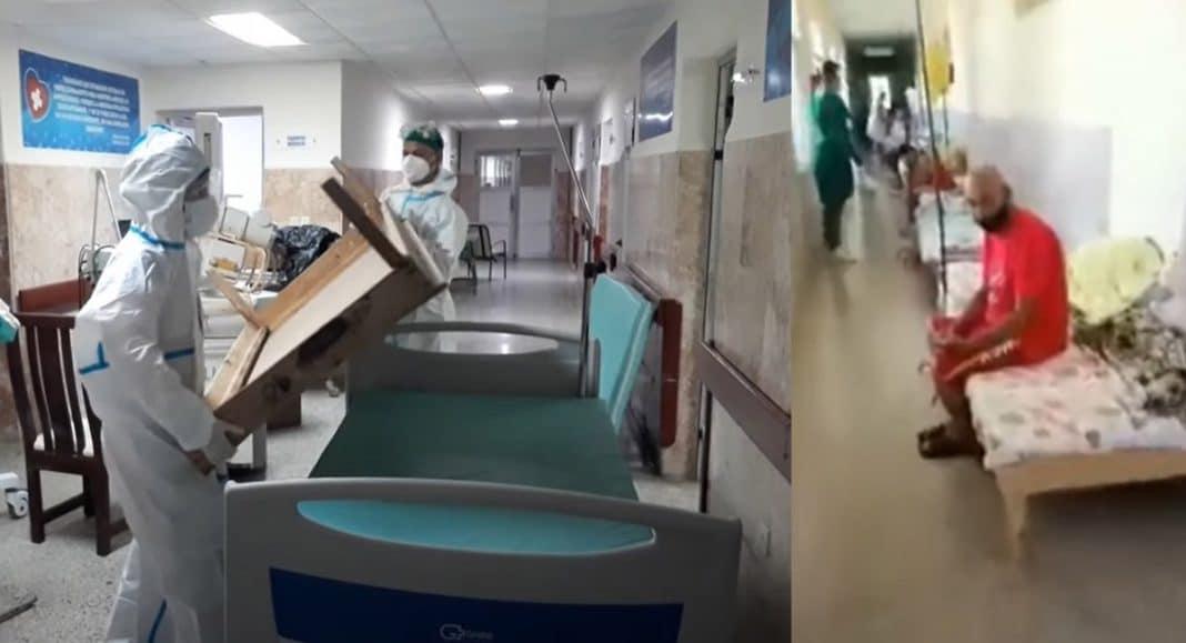 colapso en hospitales matanceros en Cuba
