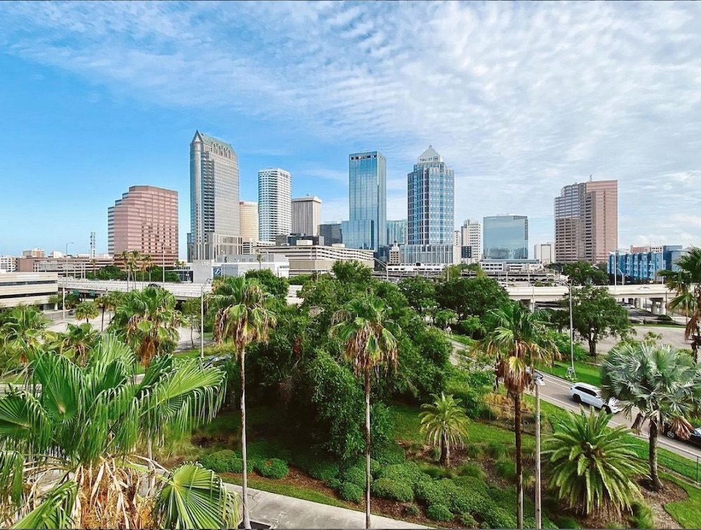 Vista panorámica de Tampa