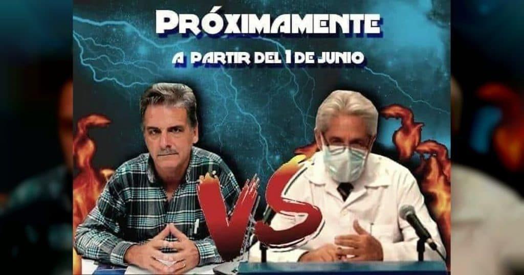 Un meme de un hipotético enfrentamiento entre el Dr Francisco Durán y el Dr José Rubiera fue viral entre los cubanos hace unos meses