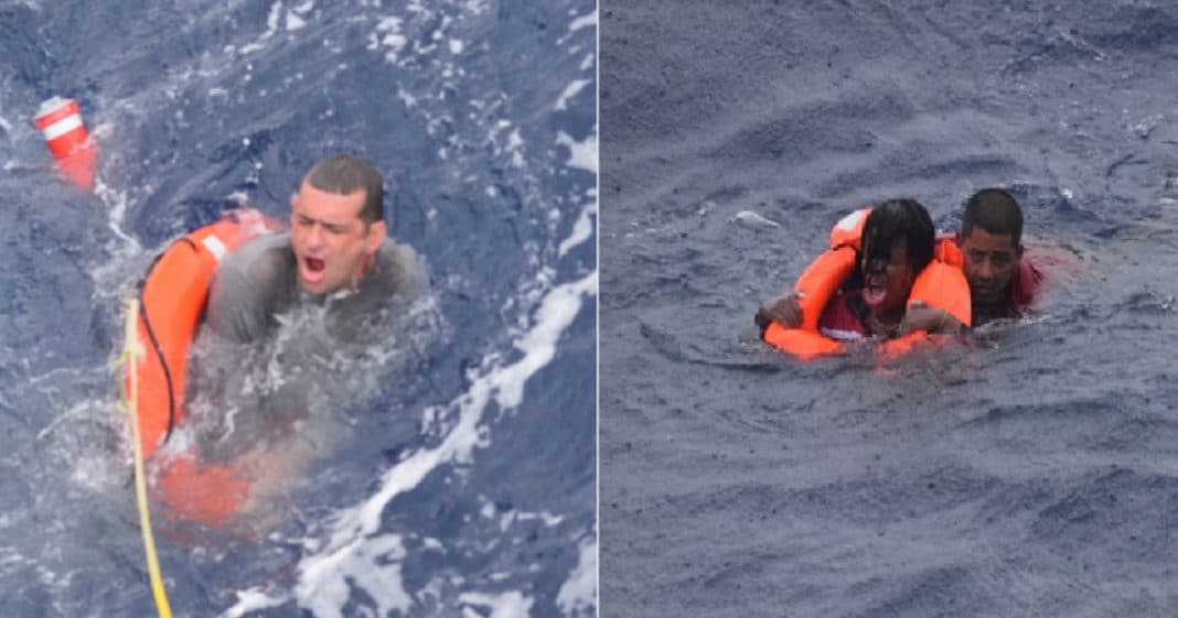 naufragio de balseros cubanos, afectados por tormenta Elsa