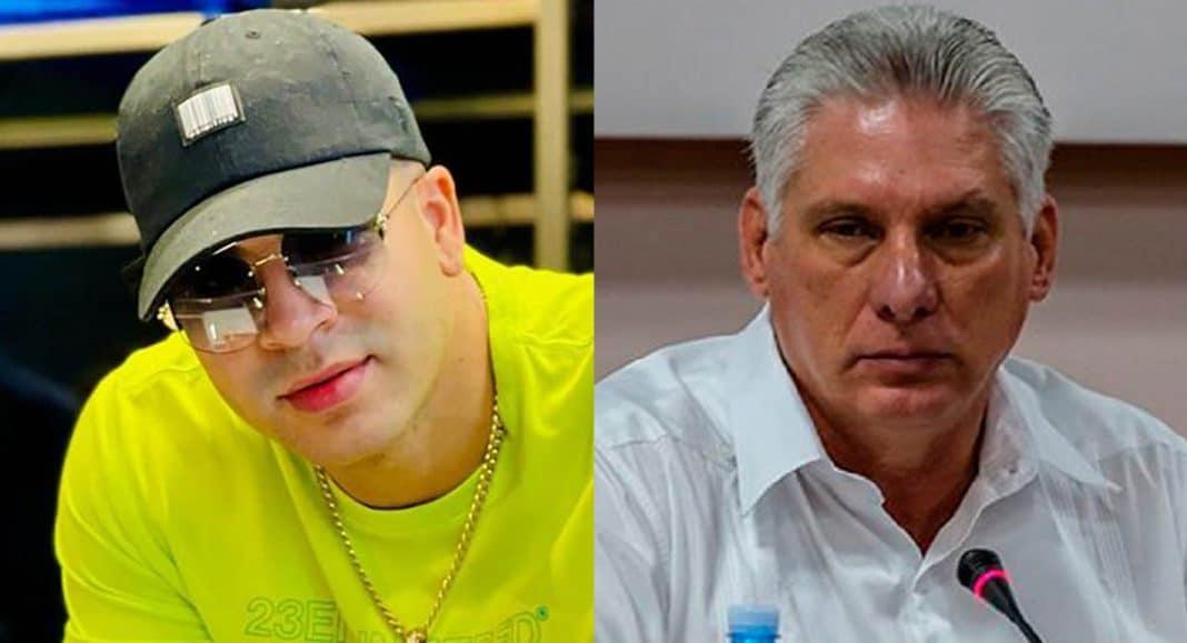 Yomil Hidalgo critica al gobierno cubano