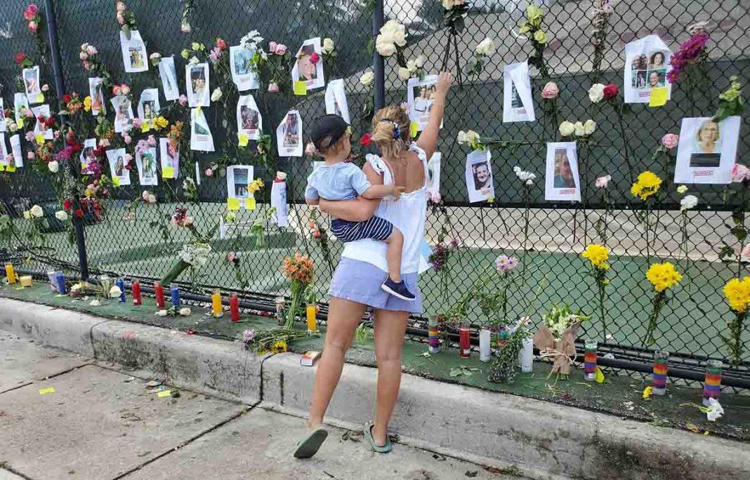 niños víctimas del derrumbe en Miami