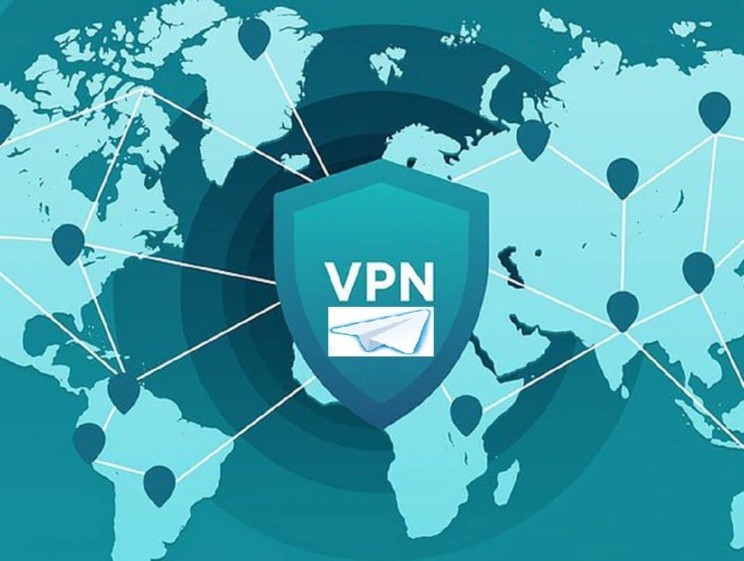 Telegram con VPN