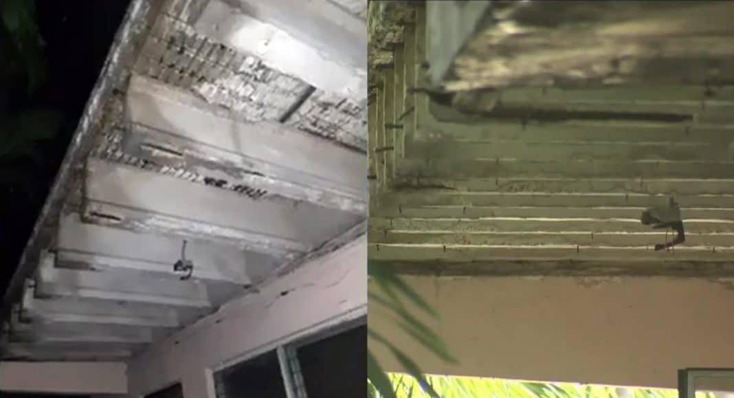 evacuado edificio en Miami