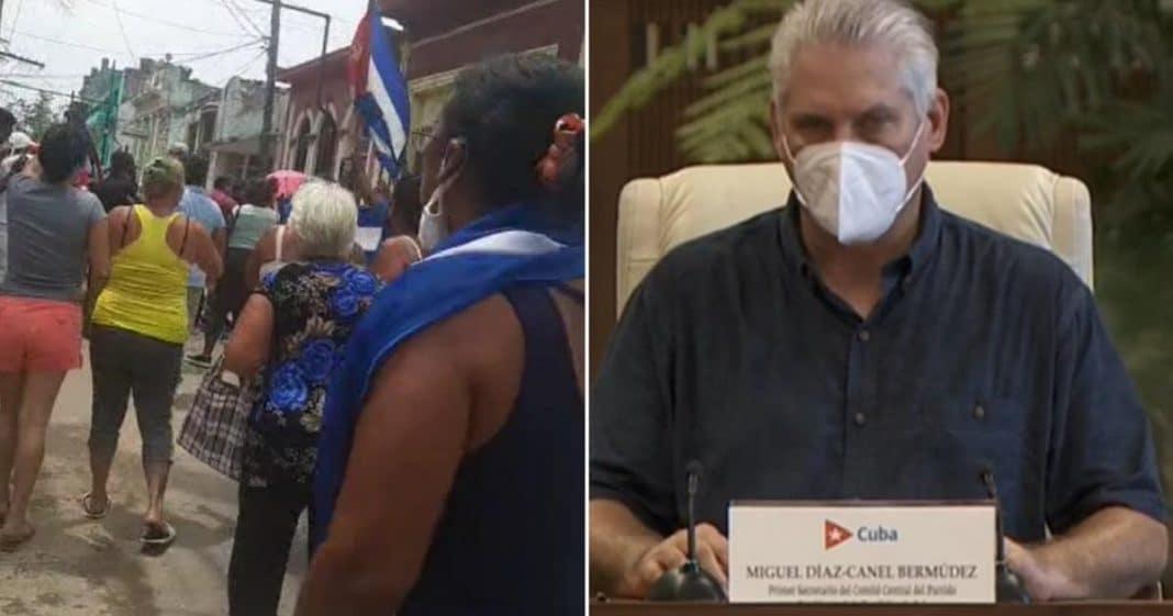 Díaz-Canel autoriza el enfrentamiento entre cubanos