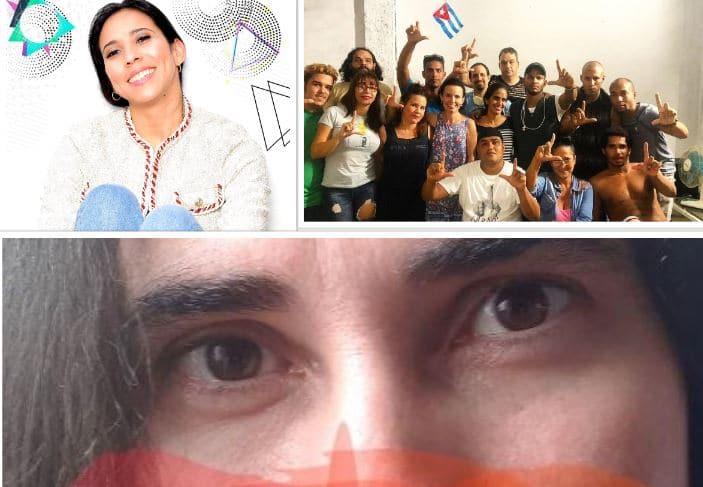 Yoani Sánchez, Yuliet Cruz, y el MSI San Isidro rechazaron las migajas del gobierno
