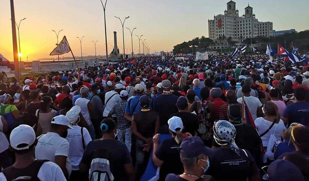 actos masivos en Cuba