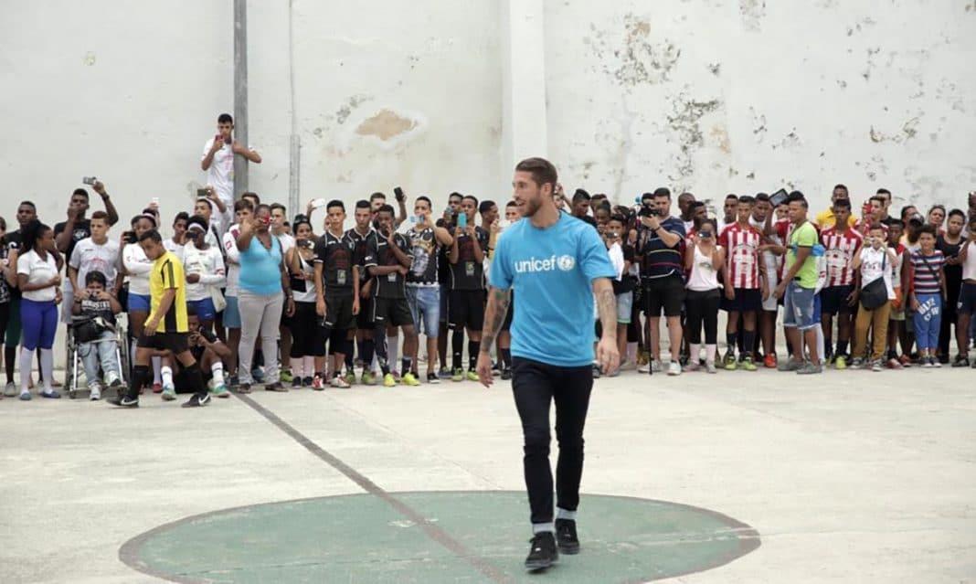 Futbolista Sergio Ramos