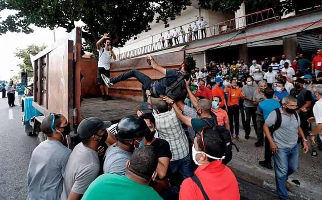 desaparecidos en Cuba por protestas