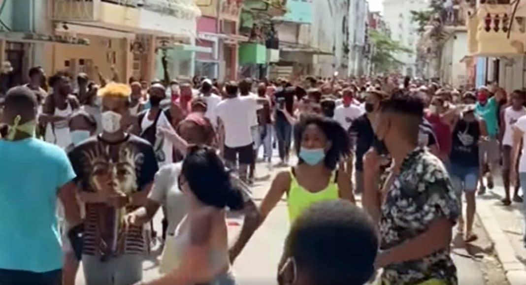 menores de edad detenidos en Cuba