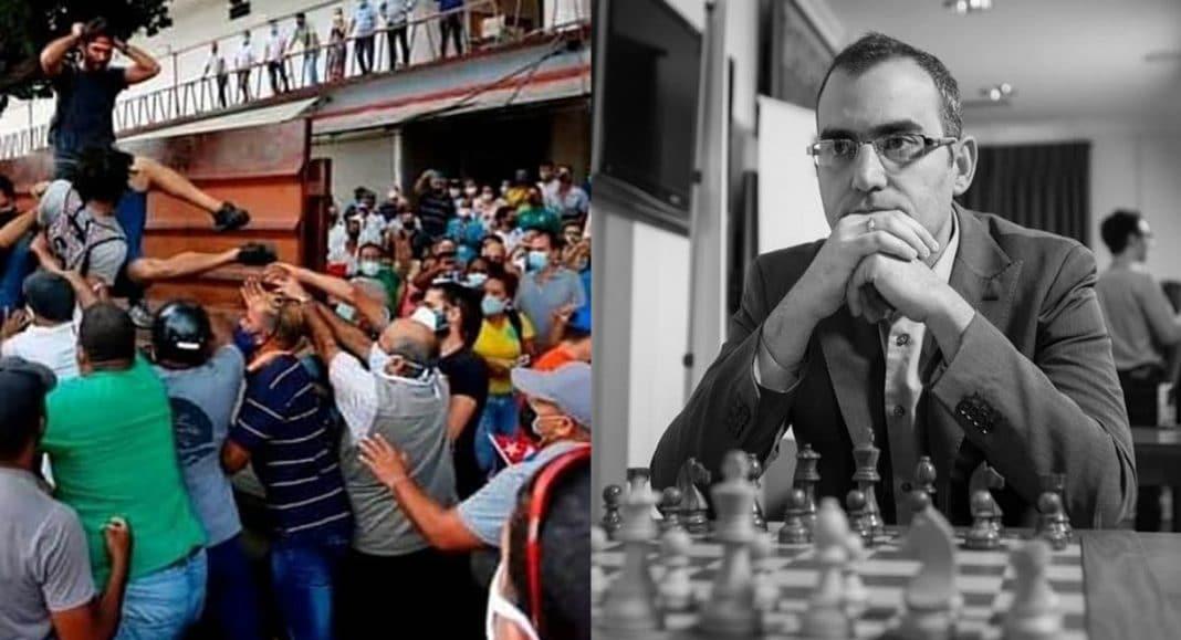 mejor ajedrecista cubano pide libertad para la isla