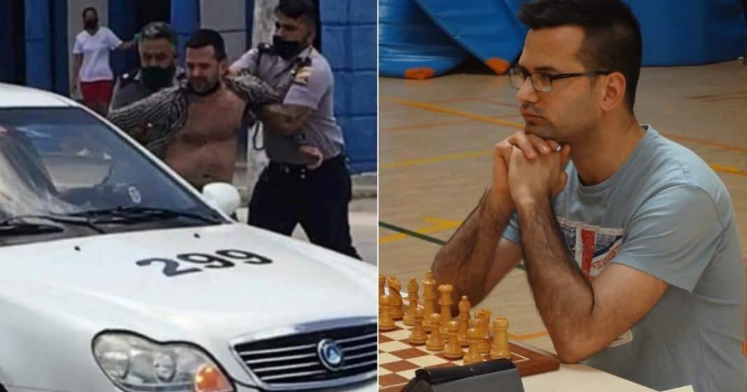 GM Arian Gonzalez sale de la carcel horrorizado