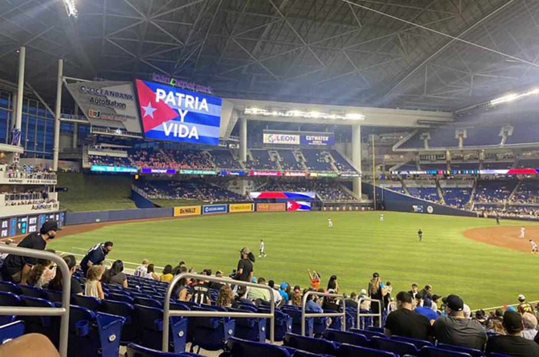 Marlins de Miami apoyan Patria y Vida