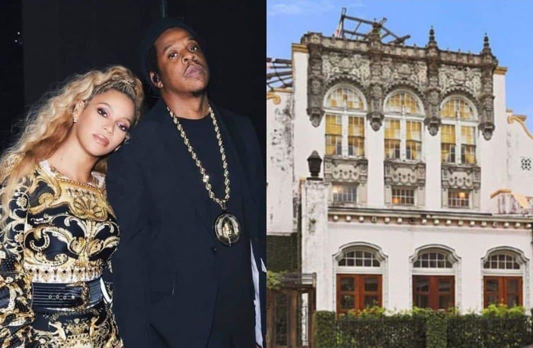 Beyoncé Jay-Z mansión incendio