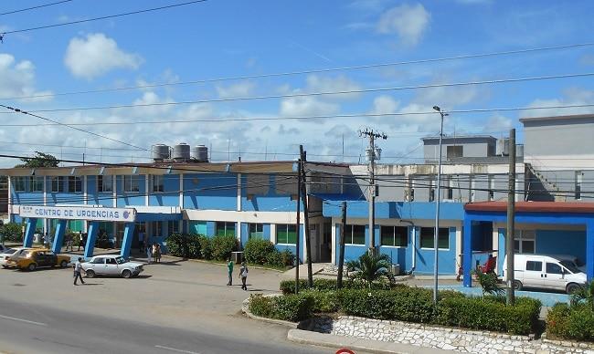 Hospital de San José de las Lajas, en Mayabeque