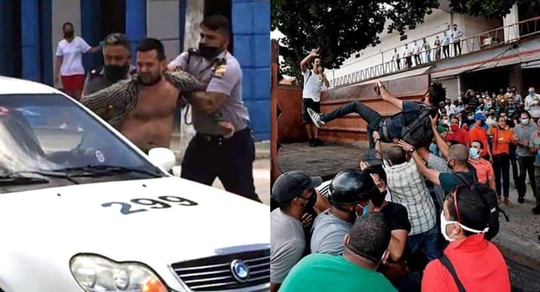 protestas del 11J en Cuba