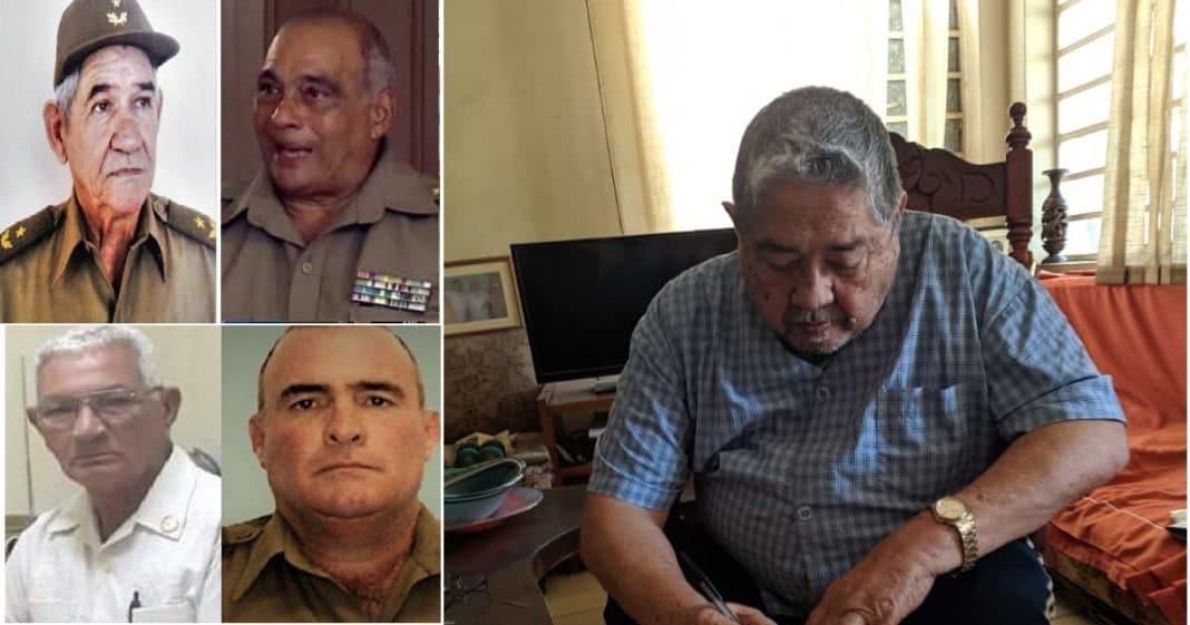 Cae un general tras otro. Cinco generales han muerto en Cuba en 11 días