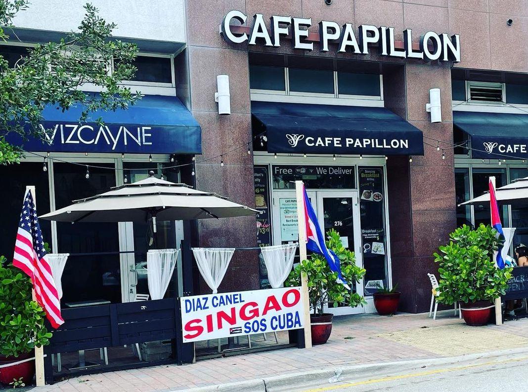 Cafe Papillon en Miami