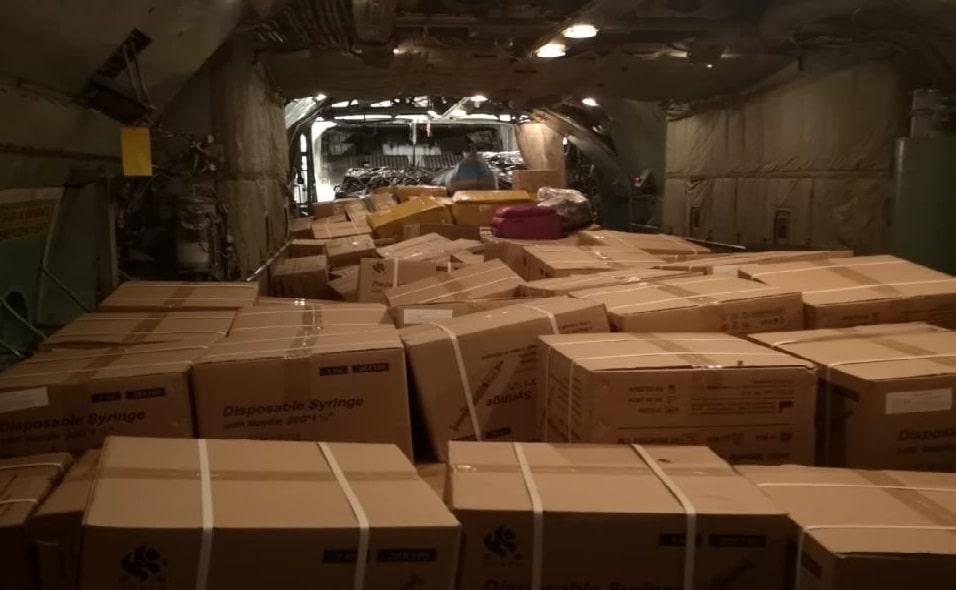 Bolivia envía 20 toneladas de ayuda humanitaria a Cuba