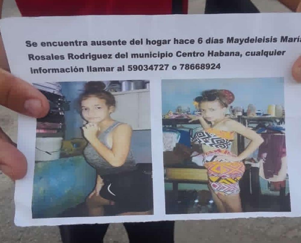 menores desaparecidos en Cuba