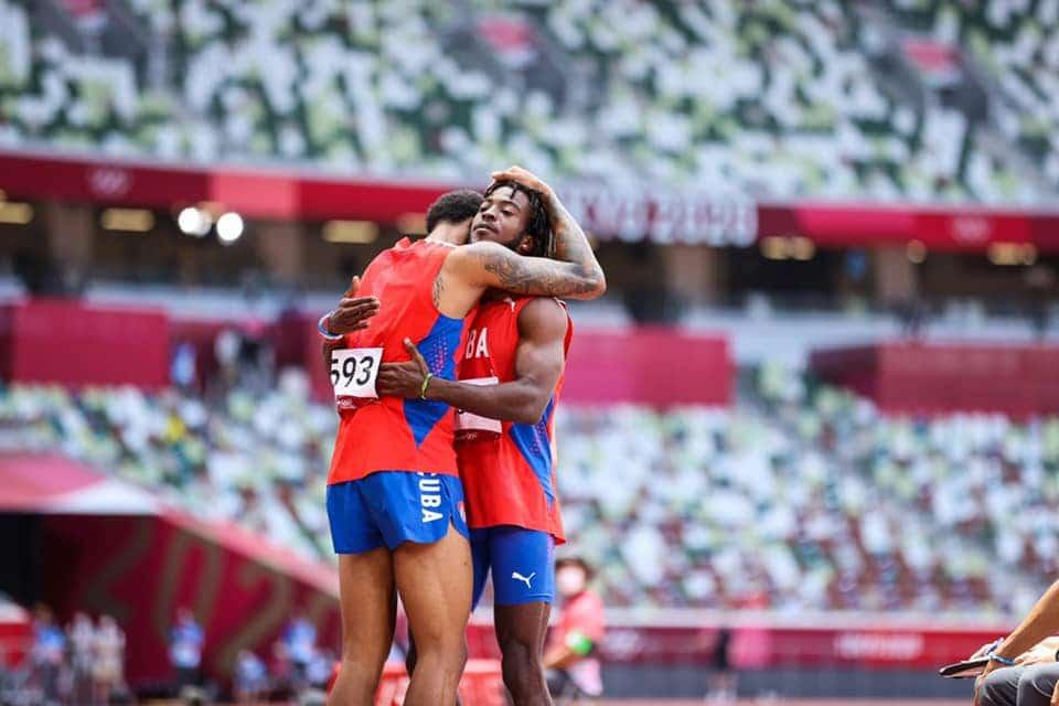 El atletismo cubano sumó una plata y dos bronces en Tokio 2020