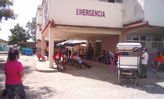 Sala de emergencia de Hospital Provincial de Ciego de Ávila