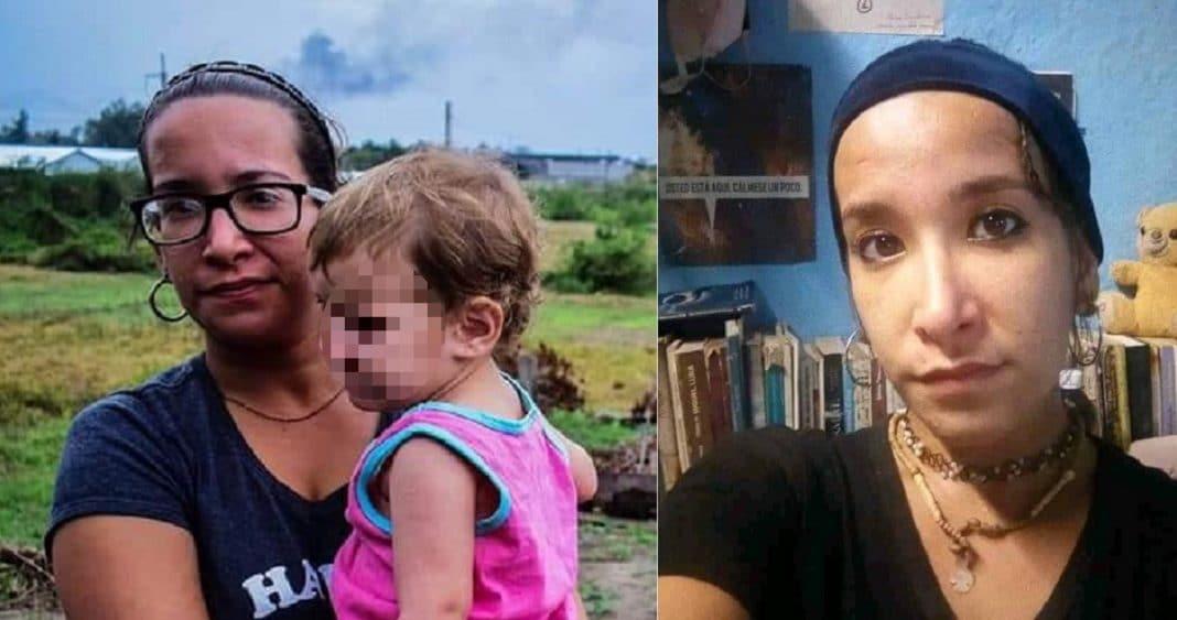 Daniela Rojo, activista cubana detenida en Cuba