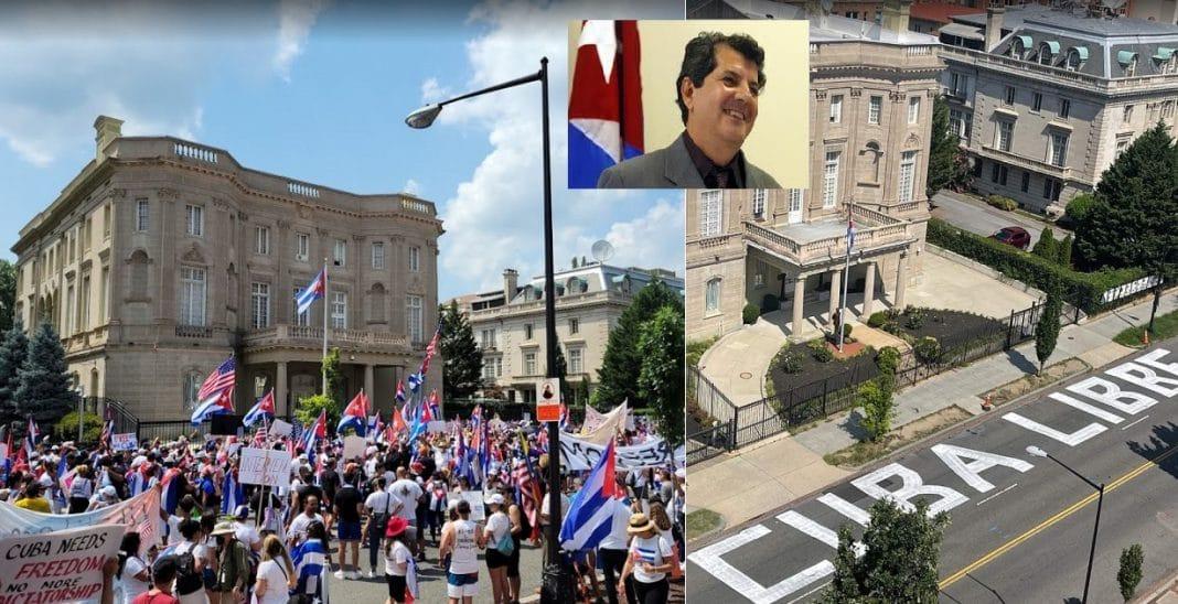 Calle 16 del NW en Washington, donde está la embajada de Cuba se nombrará Oswaldo Payá Way