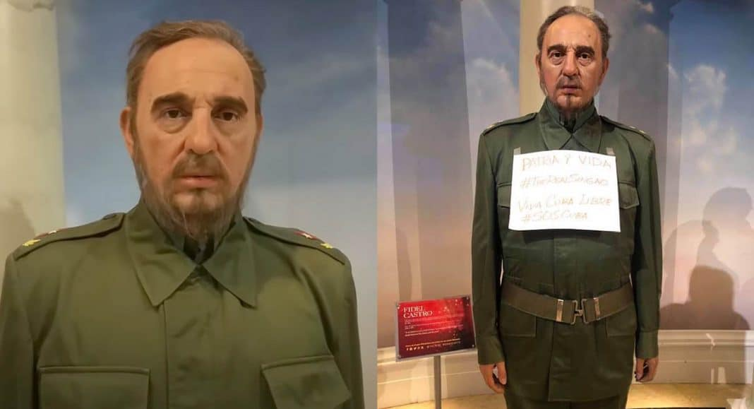 Figura de cera de Fidel Castro