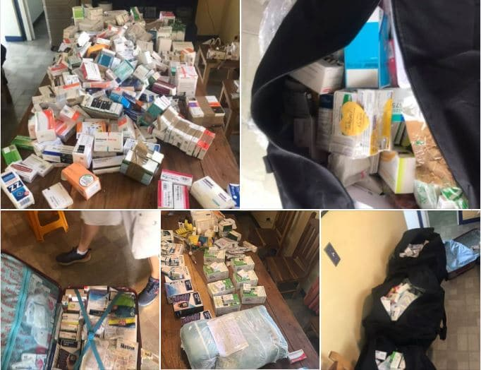 Ayuda medicamentos a Cuba una tonelada desde Madrid