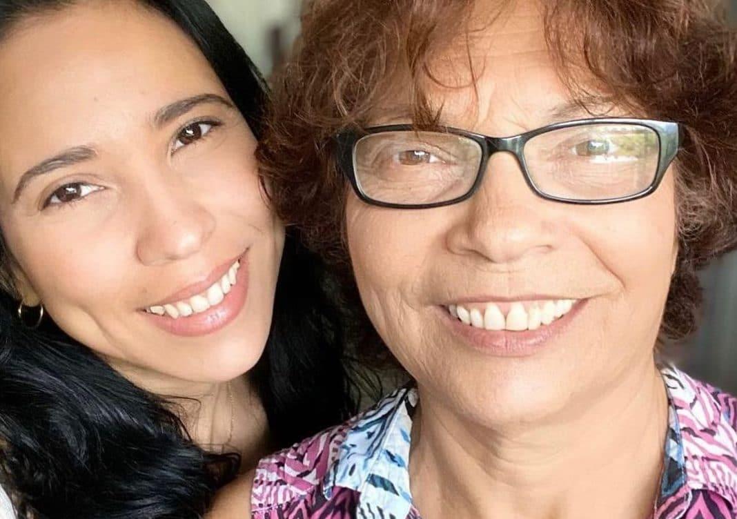 Yuliet Cruz cumple madre Lidia Delgado