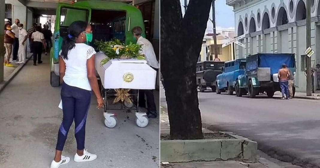En Guantánamo utilizan carros de ETECSA y Comercio como carros fúnebres