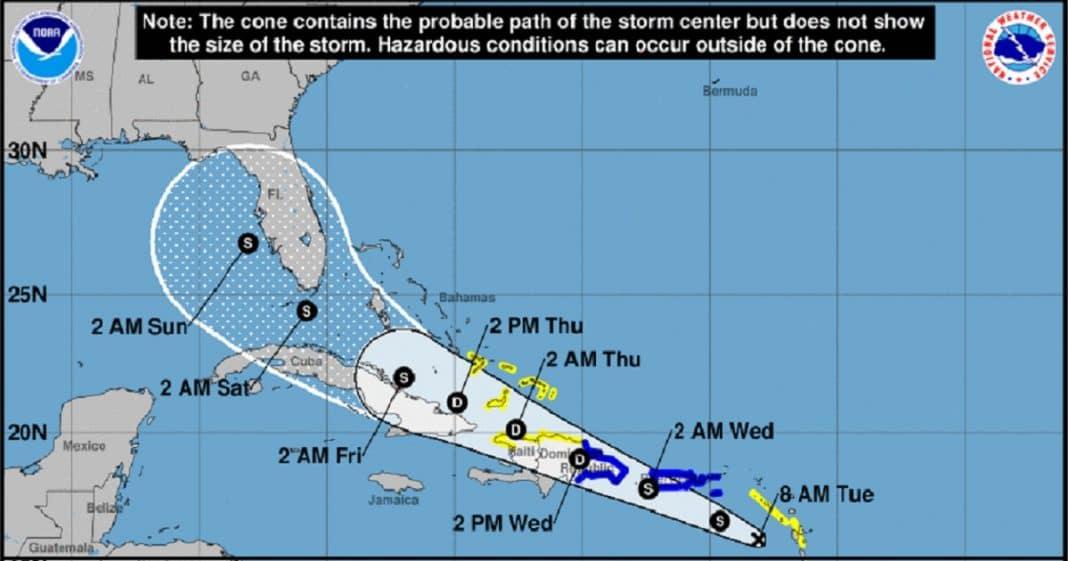 CNH advierte sobre posible formación de la tormenta Fred