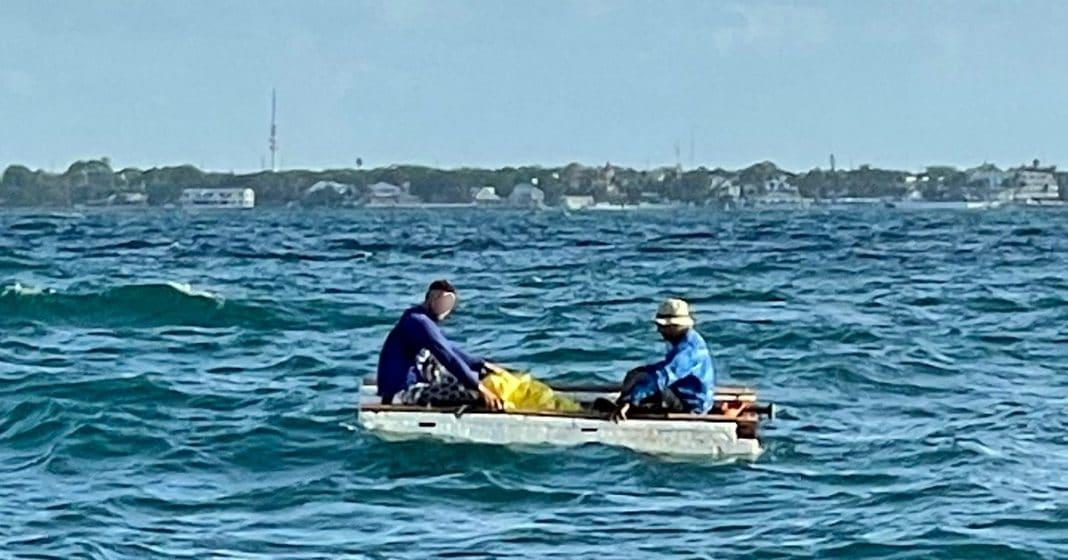 balseros cubanos fueron interceptados a 2 millas de Cayo Hueso