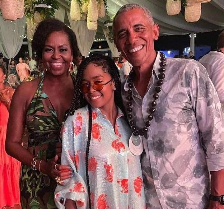 Barack Obama fiesta de cumpleaños