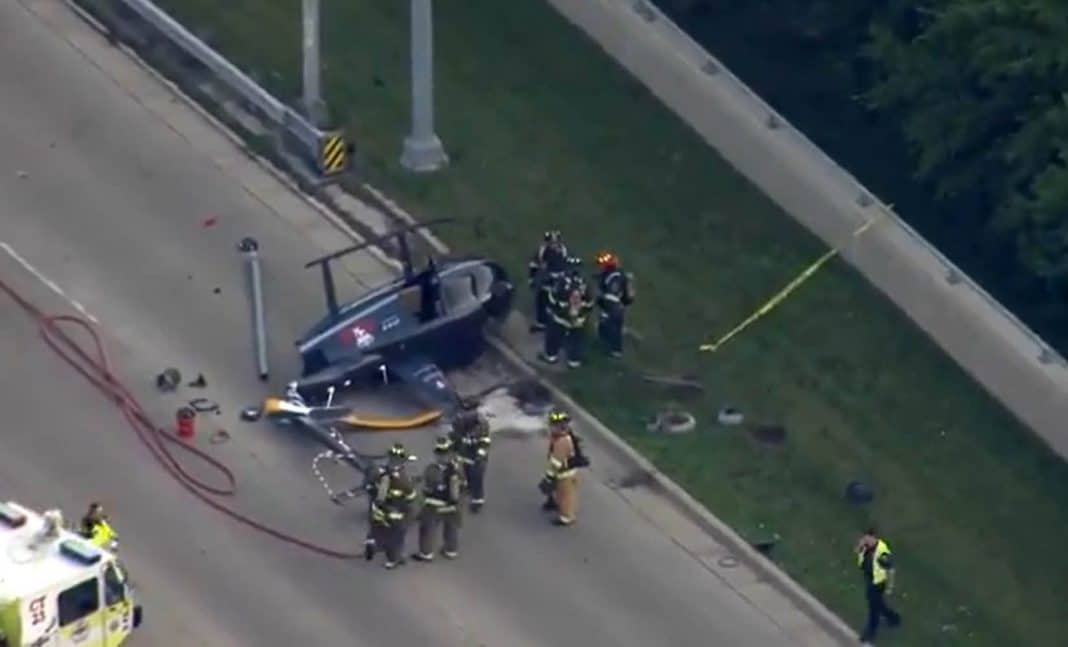 accidente cerca de Chicago Executive Airport