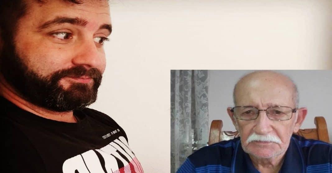 Lazaro Javier Chirinos y su antiguo profesor