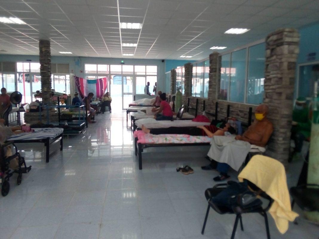 Terminal Interprovincial de Holguin es un hospital de emergencia