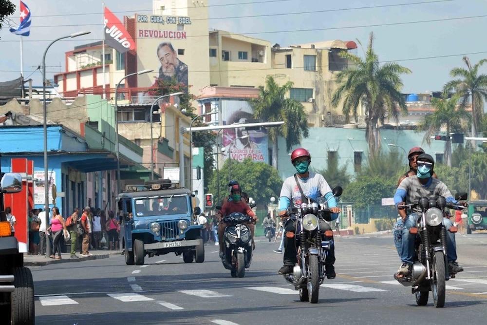 Calle de Santiago de Cuba antes del cierre