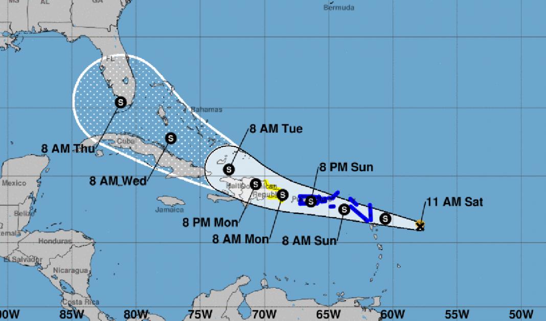 Tormenta tropical Grace afectaría Cuba y Florida