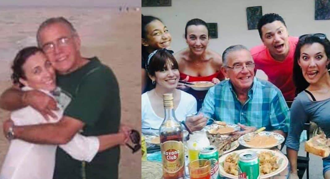 despedida de Tahimí Alvariño a su padre fallecido