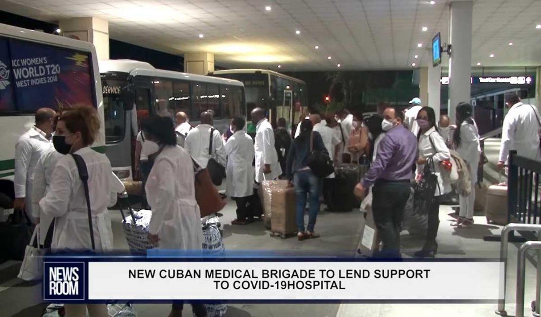 médicos cubanos a Guyana