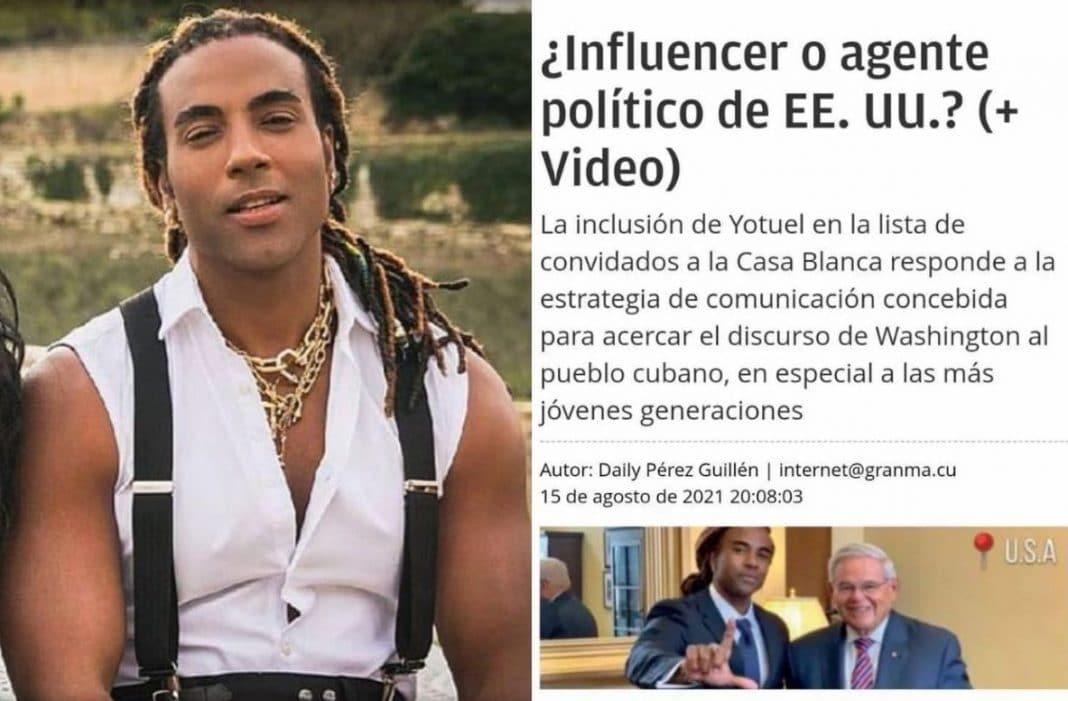 Yotuel Romero ataques gobierno cubano